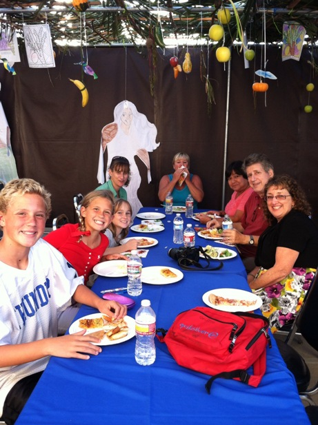 Eating in the Sukkah