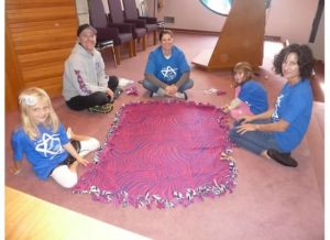 Mitzvah Day 02 blanket